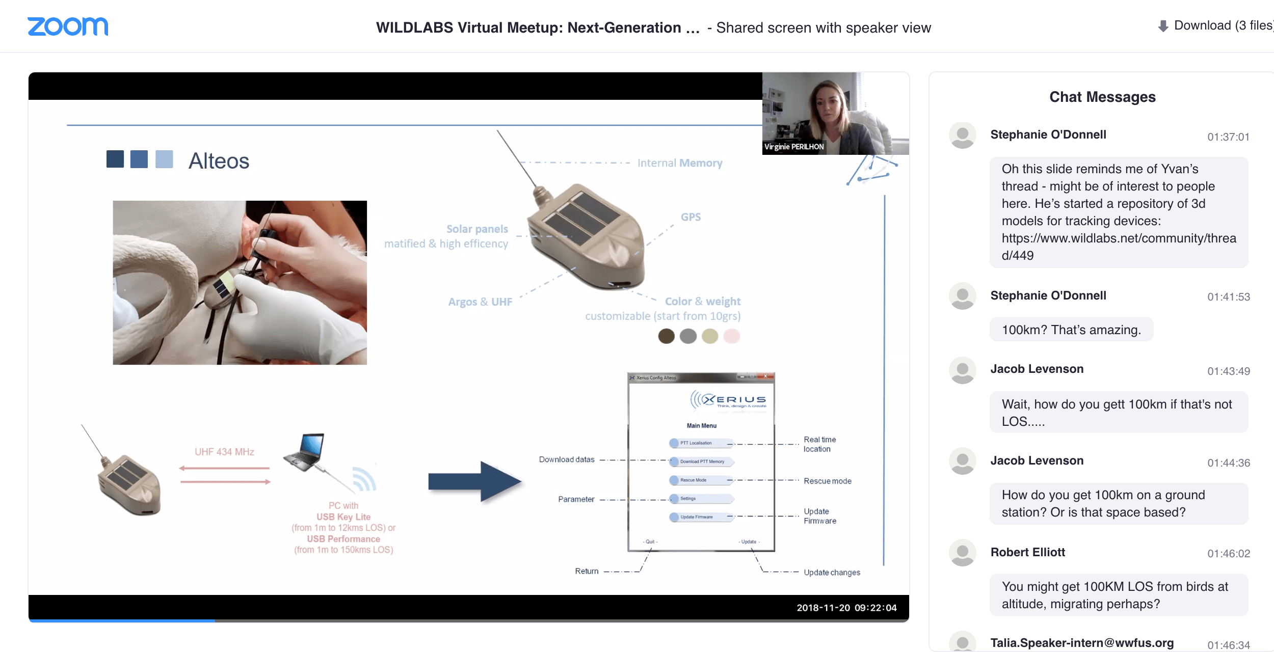 WILDLABS Virtual Meetup Link to Video Recording