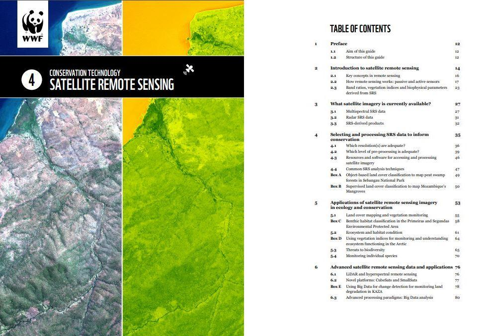 satellite remote sensing guidelines cover