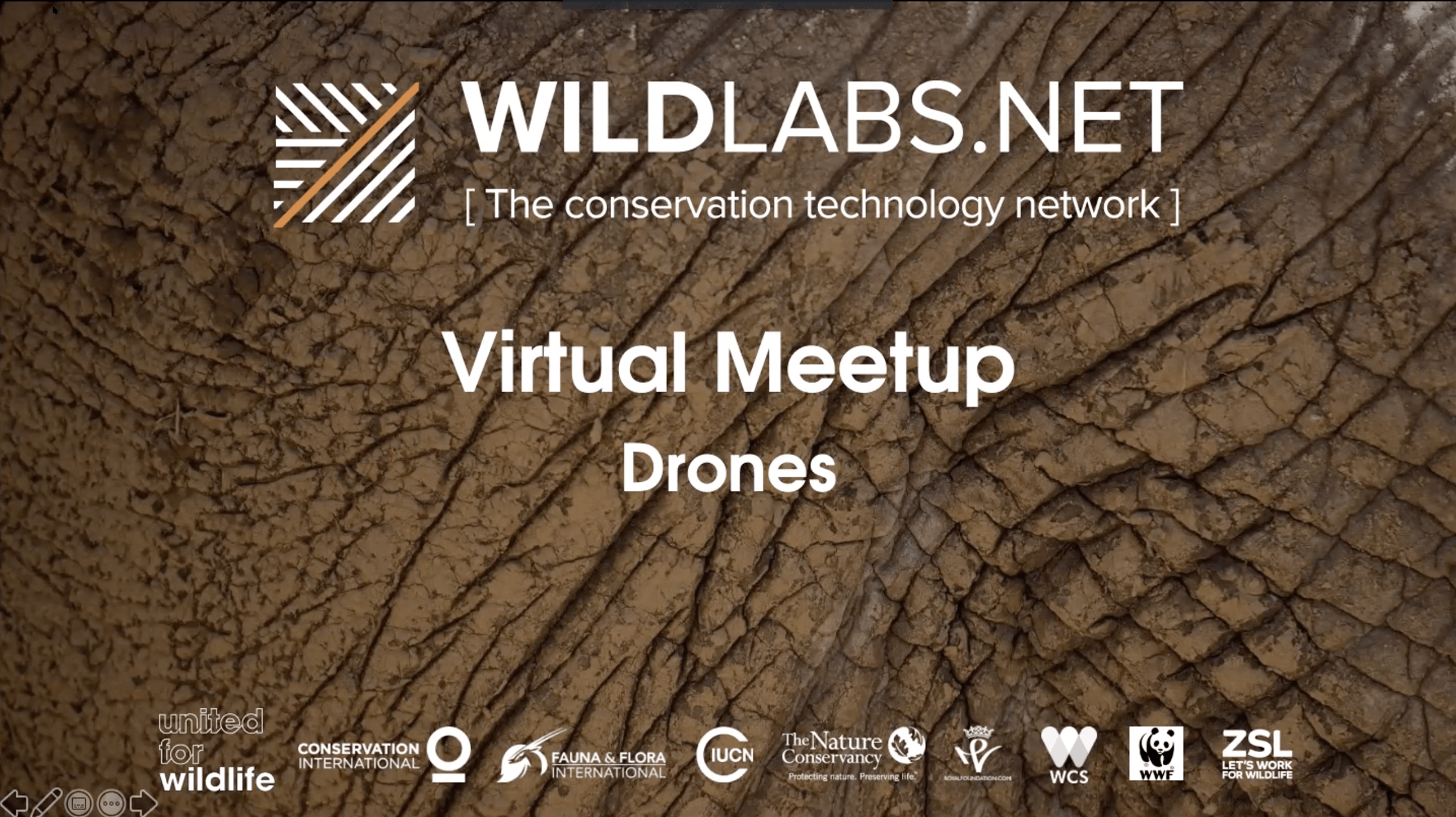 Drones Meetup Link to Video Recording