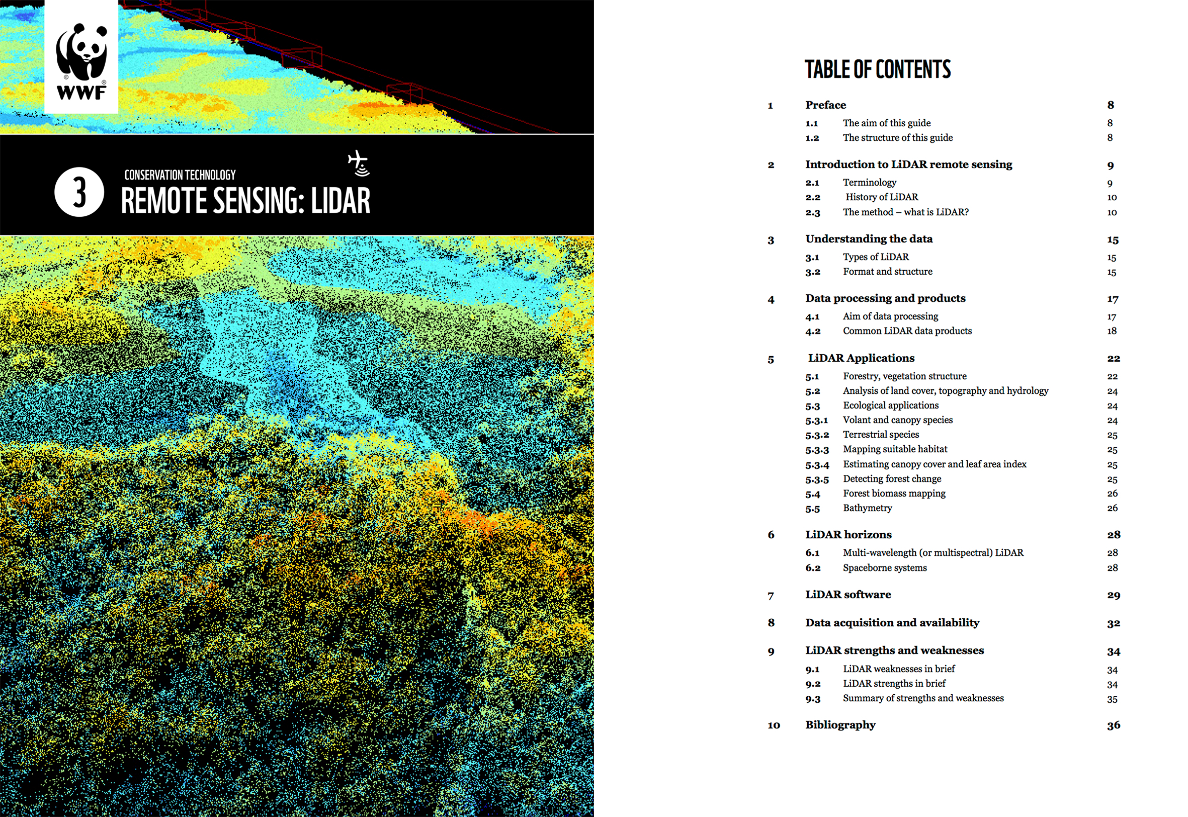 LiDAR  guidelines cover