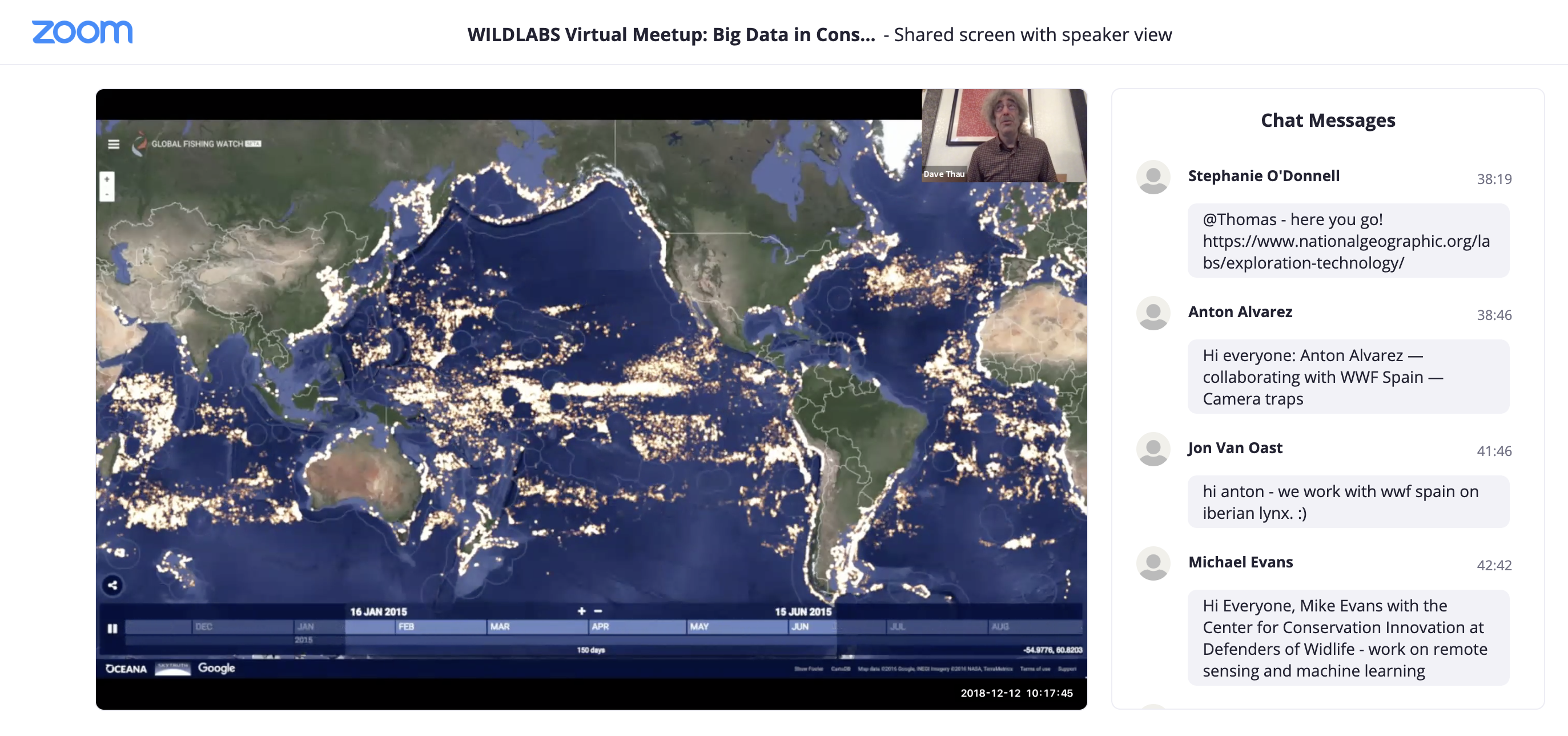 Big Data Meetup Link to Video Recording